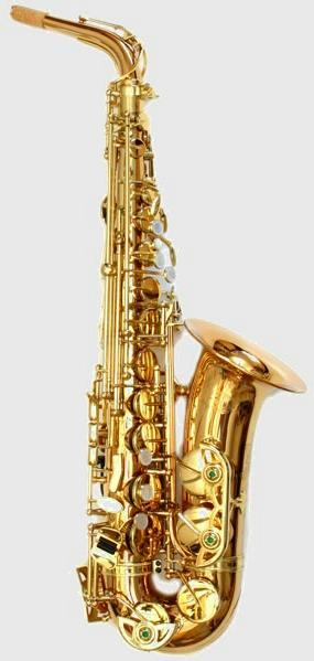 Expression Alt Saxophon Goldmessing